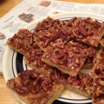 honey maple pecan bars